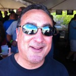 Guy Nunez ready to party at the Hood River Hops Fest '12