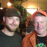 Elysian's Dave Chappell and Dick Cantwell at Killer Pumpkin Fest 2012