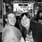 Ryan Hargrave and Jennifer Tierney at Saraveza's 4th Anniversary party