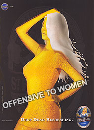 Offensive to Women Beer Ad