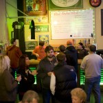 Crowd gathers at Green Dragon for Killer Pumpkin Fest 2012 (photo by Allyson Riggs of Rogue)