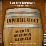Knee Deep Imperial Stout aged in bourbon barrels
