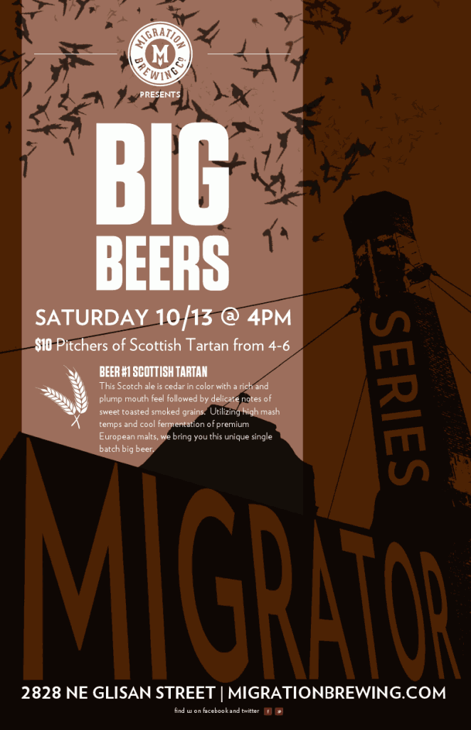 Migration Brewing's The Migrator Series 1st Release