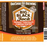 Oakshire Big Black Jack Pumpkin Imperial Stout