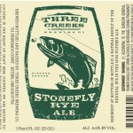 Three Creeks Stone Fly Rye