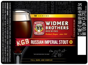 Widmer KGB Russian Imperial Stout