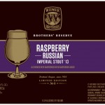 Widmer Raspberry Russian Imperial Stout '13