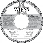 Wein's Brewing Plateau Pale (Keg Collar)