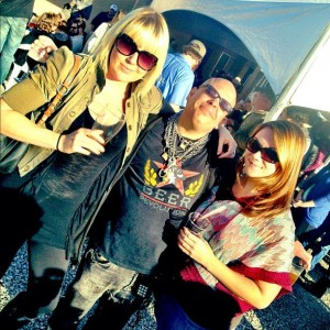 Ashley, Fraggle, and Kim at Berryessa grand opening