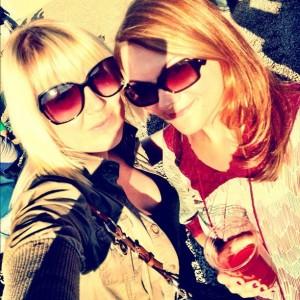 Ashley Routson and Kim Schimke at Berryessa Brewing