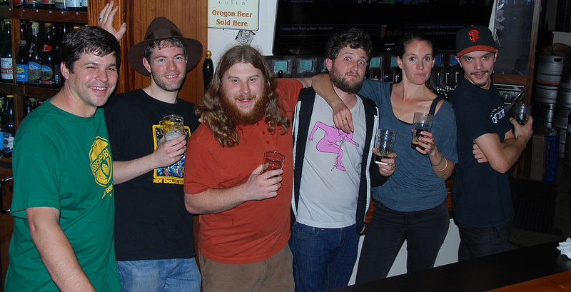 Bailey's Taproom crew