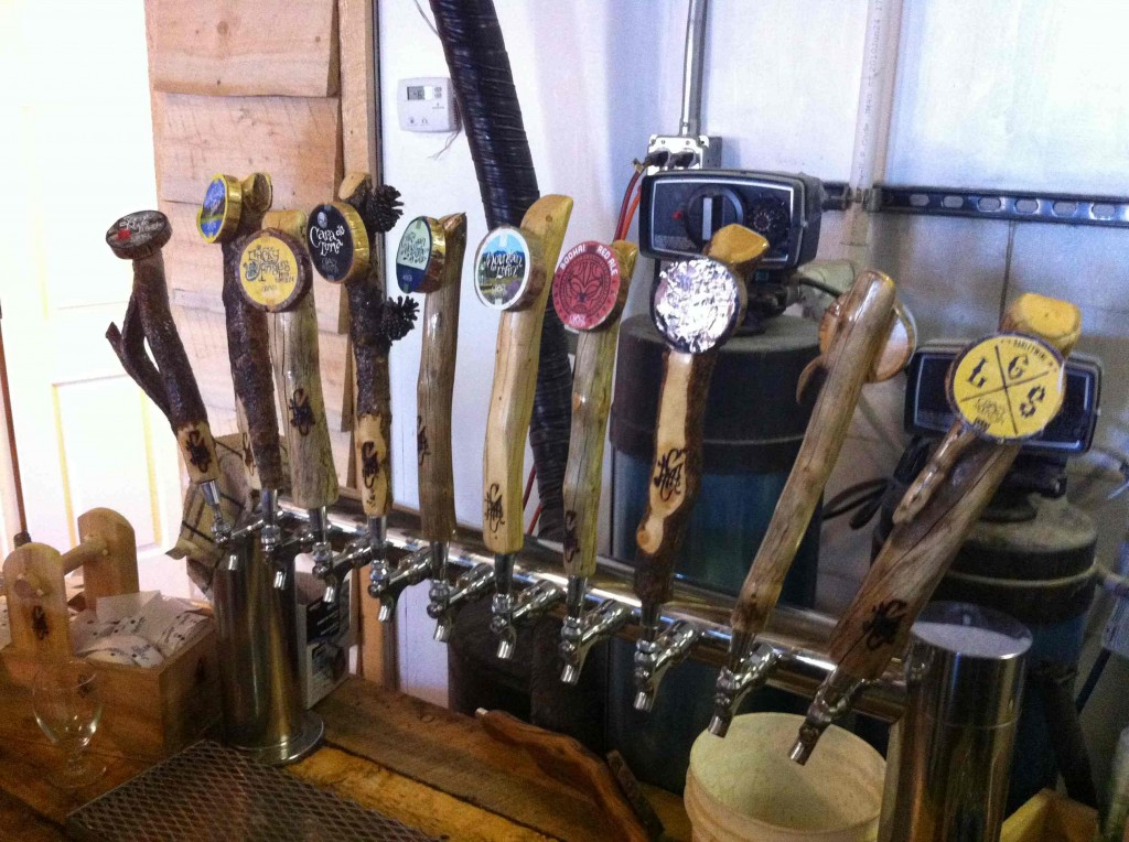 Crazy Mountain Tap Handles