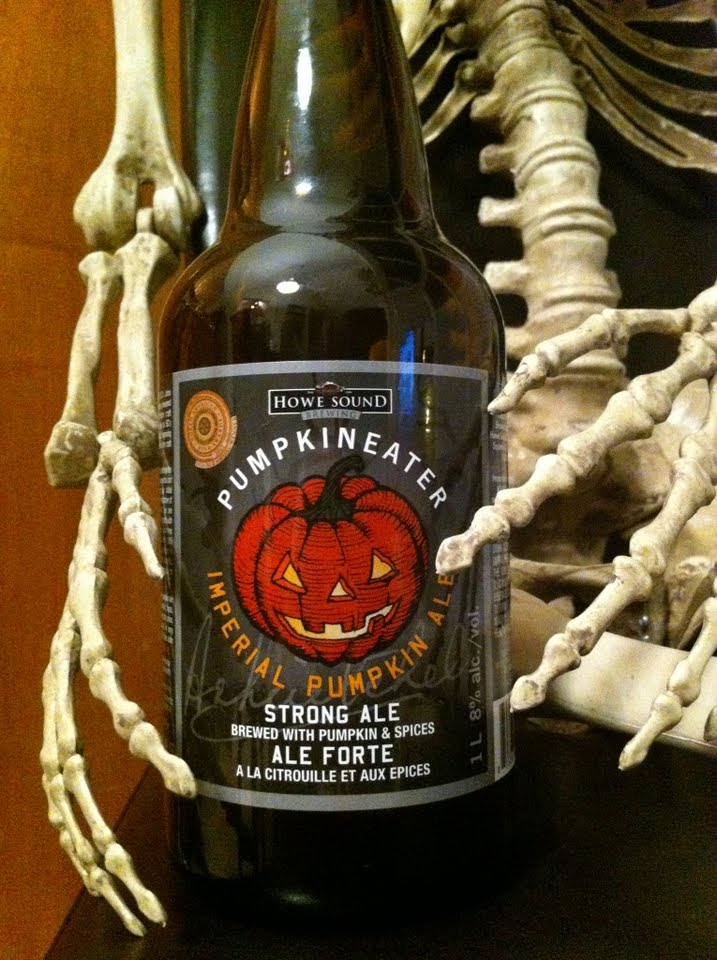 Howe Sound Pumpkin Eater Imperial Pumpkin Ale