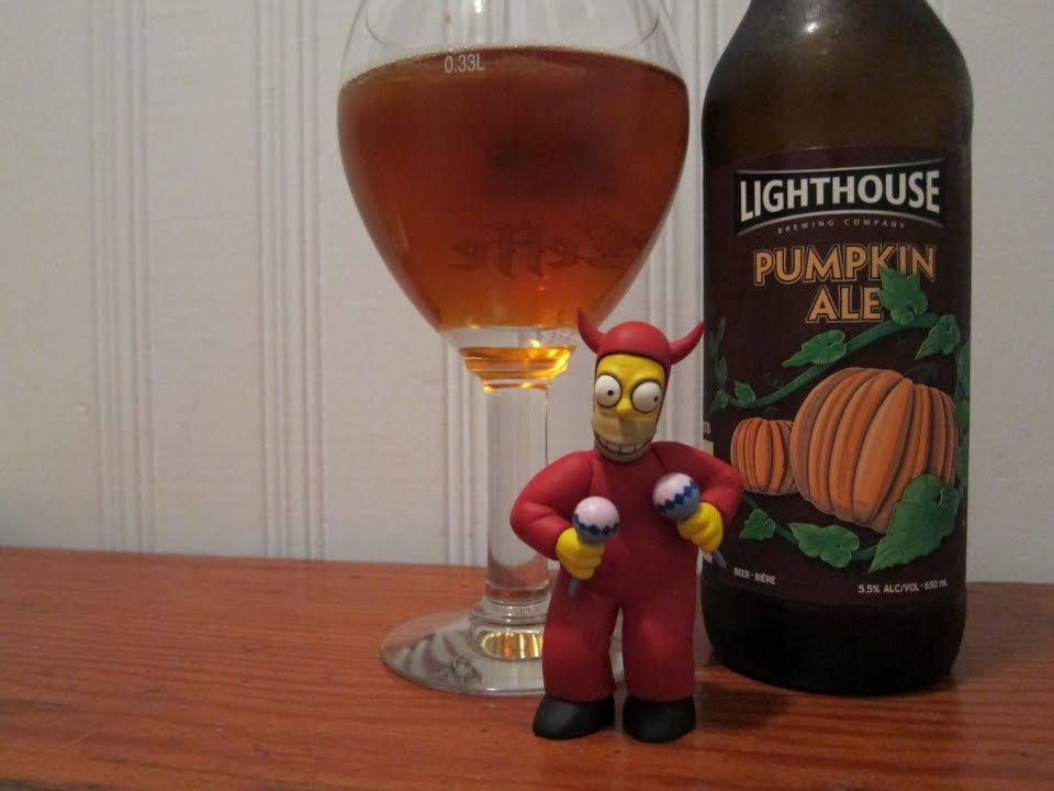 Lighthouse Brewing Pumpkin Ale