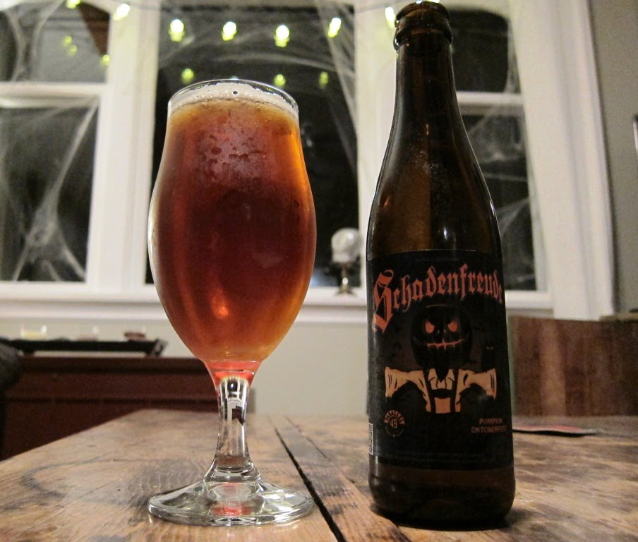 Parallel 49 Brewing Schadenfreude Pumpkin Ale