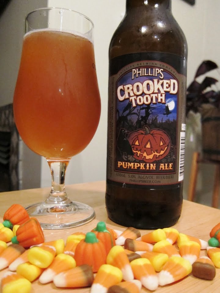 Phillip's Crooked Tooth Pumpkin Ale