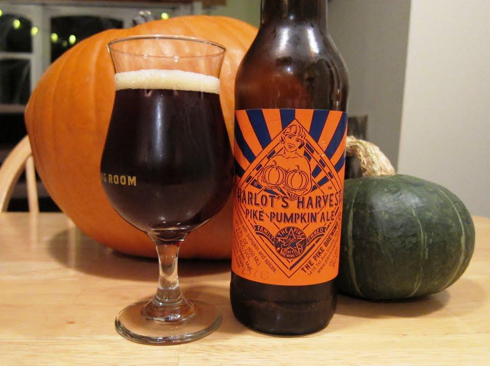 Pike Harlot's Harvet Pumpkin Ale