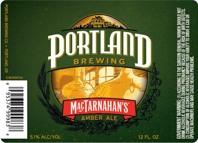 Portland Brewing MacTarnahan's Amber Ale