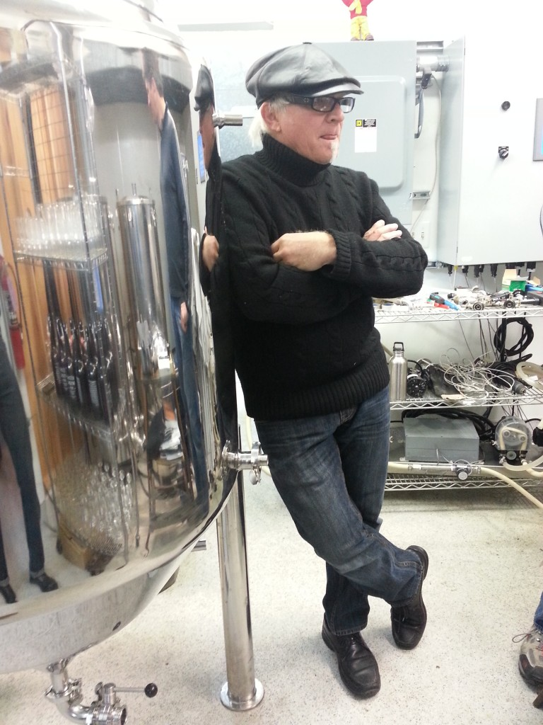 Alan Atha, brewer/owner of Beltane Brewing