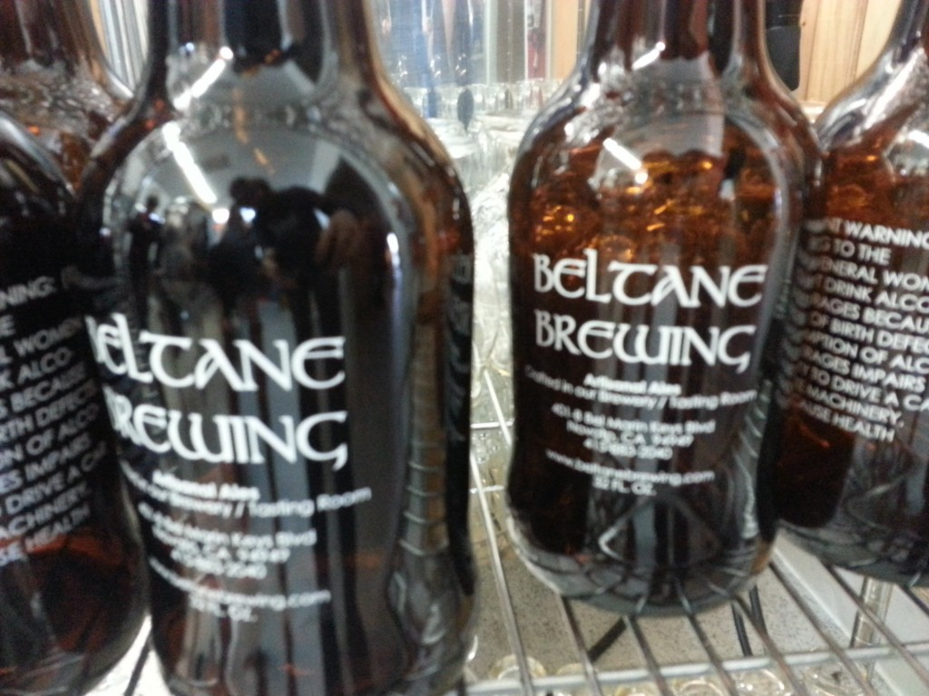 Growlers to go at Beltane Brewing