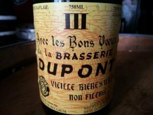 Brasserie Dupont Avec les Bons Voeux