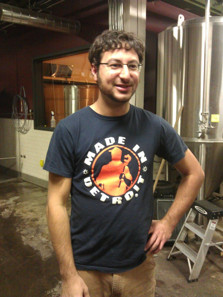 Upright owner, brewmaster, and pit boss Alex Ganum