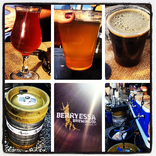 KimsBayBrews Instagram photo from Berryessa Brewing in Winters, CA