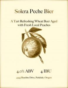 Solera Peche Bier