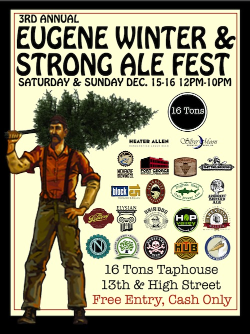 16 Tons 3rd Annual Winter &amp; Strong Ale Fest