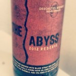 2012 Deschutes the Abyss Barrel Aged Imperial Stout