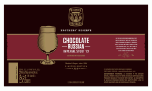 2013 Widmer Chocolate Russian Imperial Stout