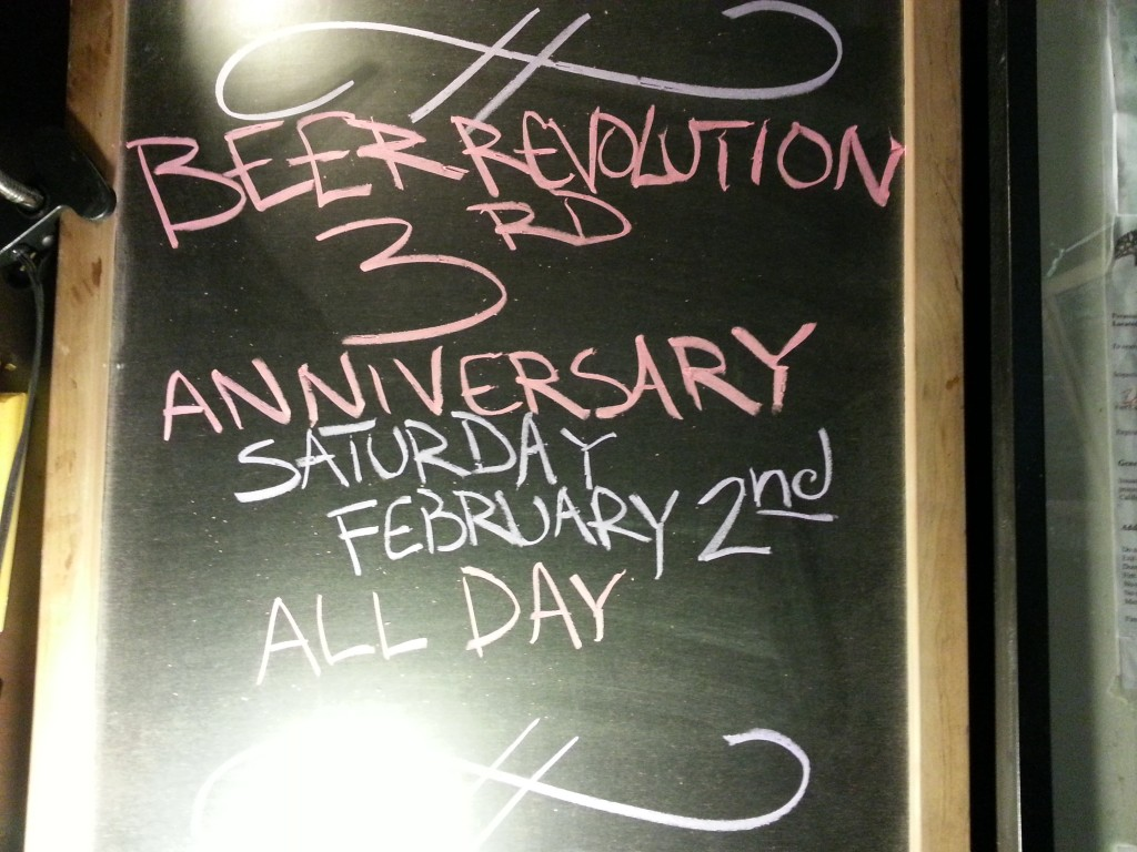 Beer Revolution 3rd Anniversary Party