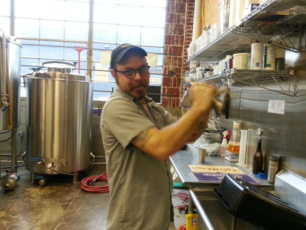 Sean Burke, brewer at The Commons Brewery