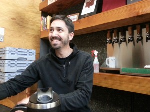Commons brewmaster and owner Mike Wright