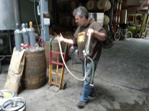 Hair of the Dog Brewmaster Alan Sprints