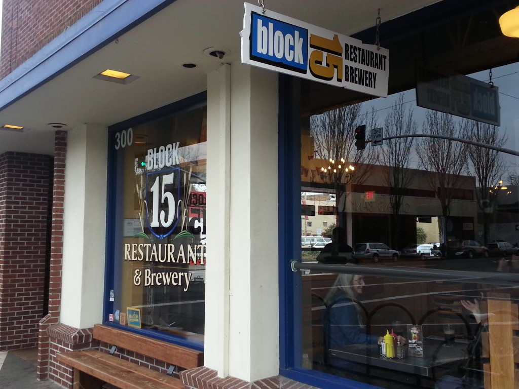 Block 15 Brewery in Corvallis, Oregon