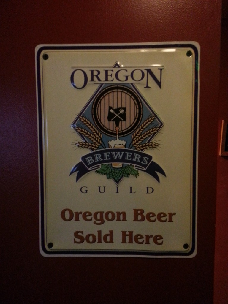 Oregon Beer Sold Here