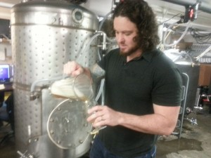 Nick Arzner of Block 15 Brewing
