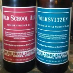 Below Grade Brewing Oldschool Ale and Volksvizen