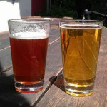 Berryessa Brewing IPA and Pilsner