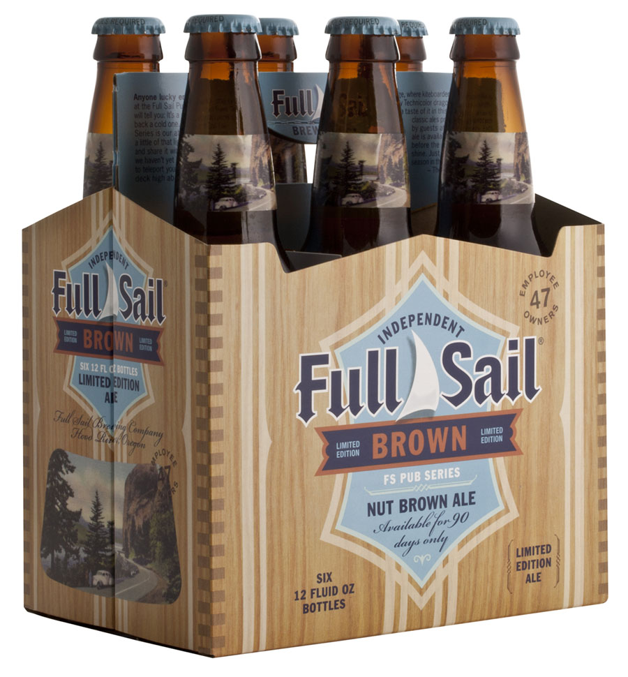 Full Sail Nut Brown Six Pack