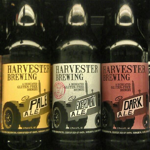 Harvester Brewing beers