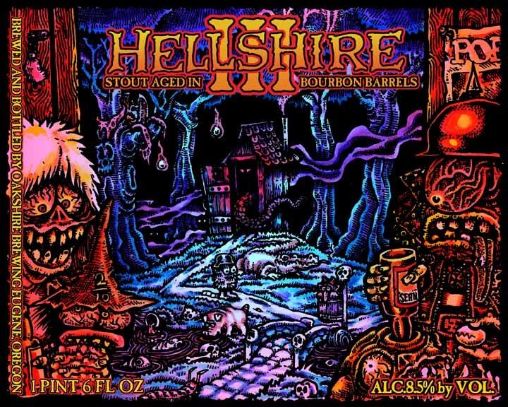 Oakshire Hellshire III Label