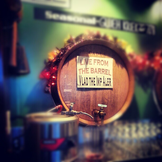 Live from the Barrel - Cascade Brewing Vlad the Imp Aler