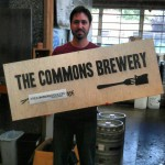 Mike Wright of The Commons Brewery