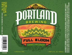 Portland Brewing Full Bloom Craft Lager