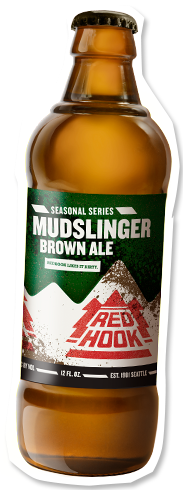 Redhook Mudslinger Brown Ale bottle