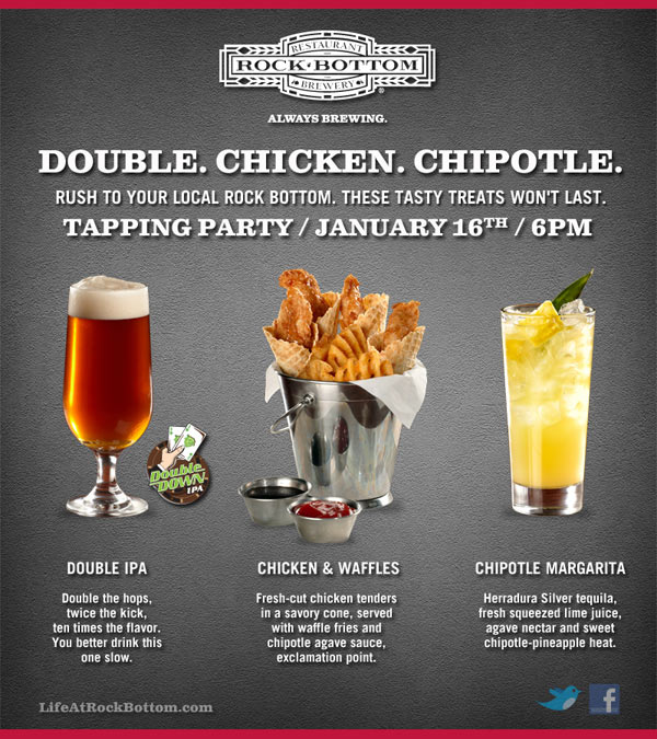 Rock Bottom Double Down DIPA release party