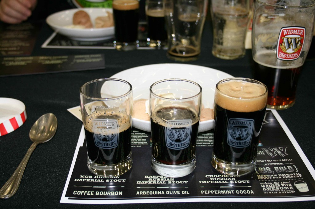 Russian Imperial Stout Flight