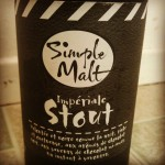 Simple Malt Imperiale Stout